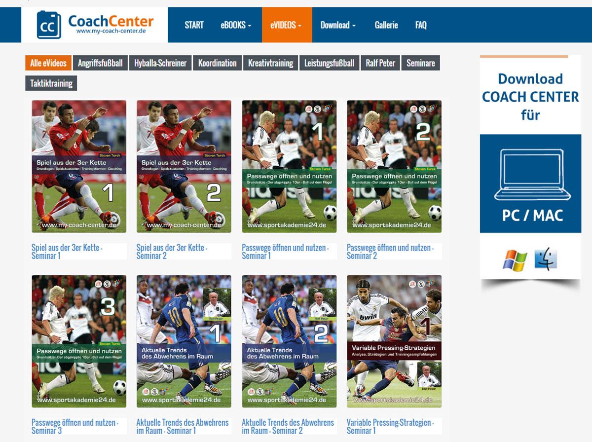 Coach-Center eVideos