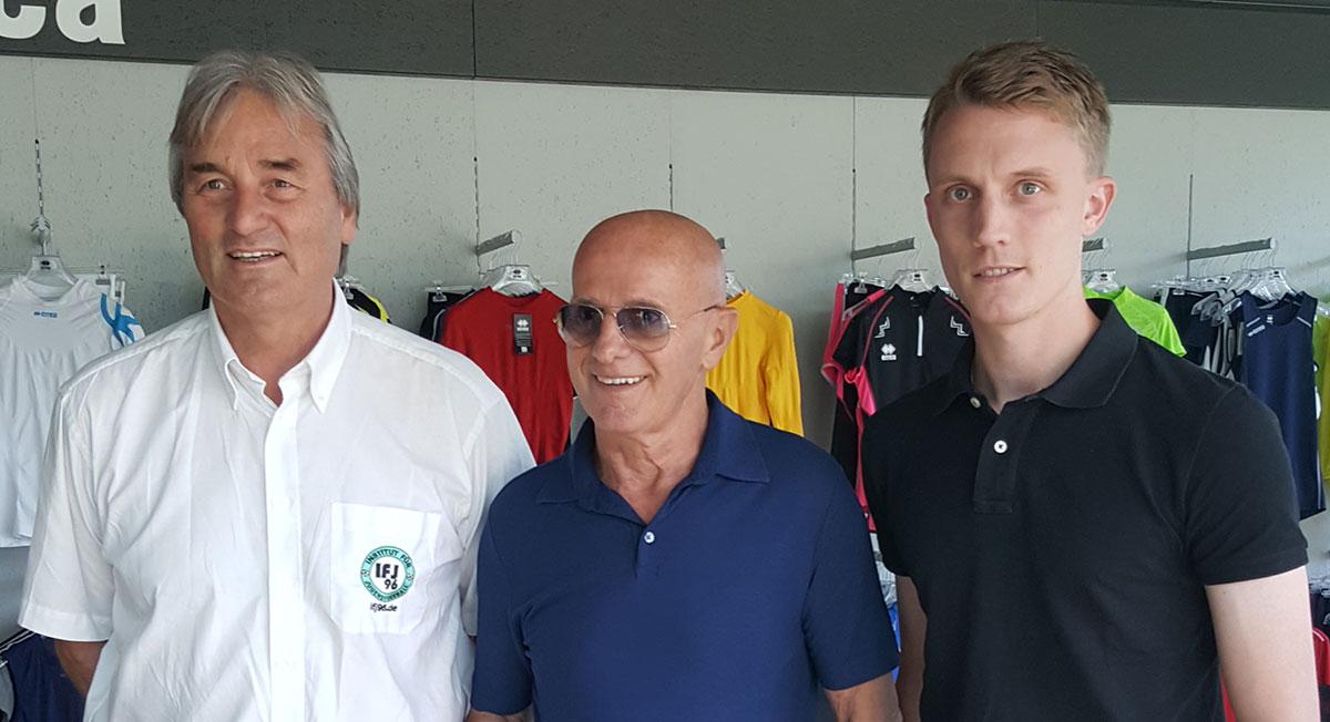Arrigo Sacchi hier mit Peter Schreiner und Steven Turek auf dem Kongress in Colorno (Italien)