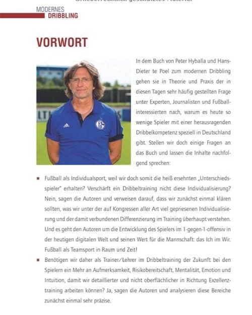 "Norbert Elgert - Vorwort im eBook ""Modernes Dribbling"""