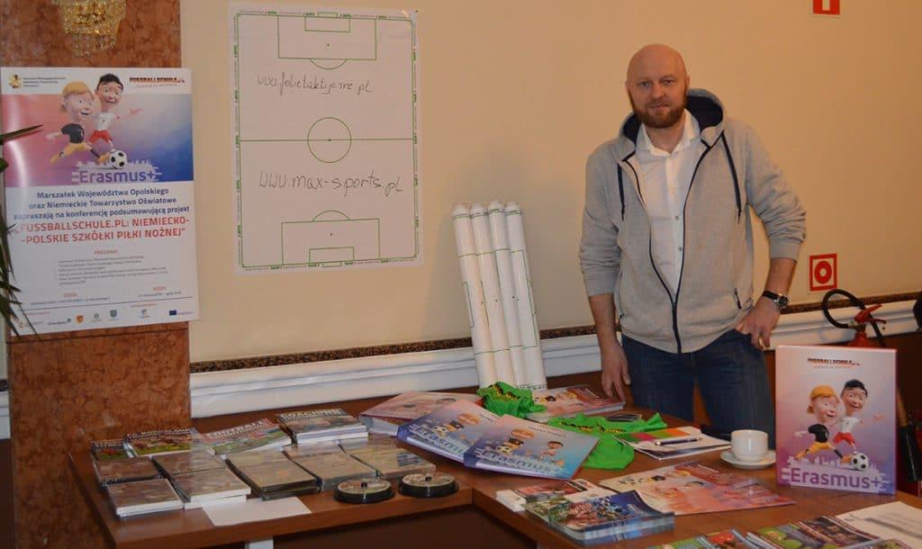 Rafal Nocon, Fussballschule PL – Projektkoordinator, OZPN - Verbandmitglied.