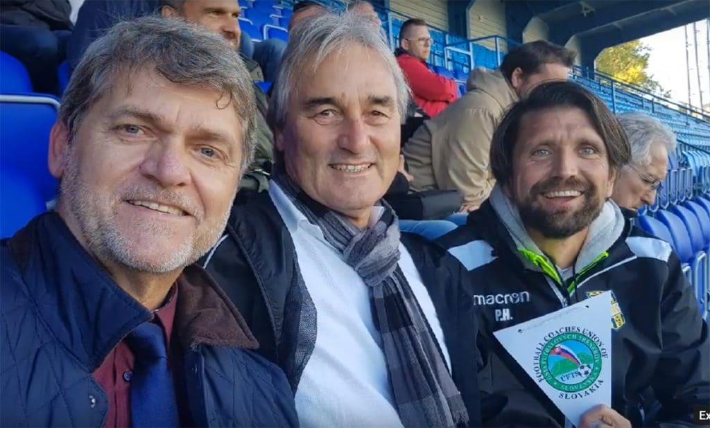 Dr. L. Borbely, Peter Schreiner und Peter Hyballa auf dem Kongress in Nitra