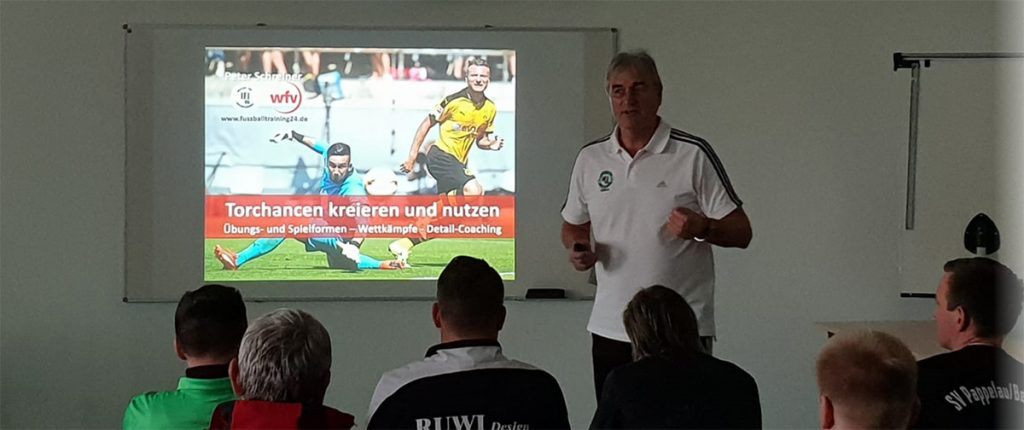 2. PowerPoint mit den Trainingsformen der Praxis mit Grafiken und Animationen