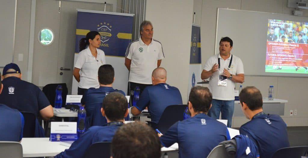 Peter Schreiner - Referent bei der A-Lizenz-Ausbildung in Brasilien (Juni 2018)