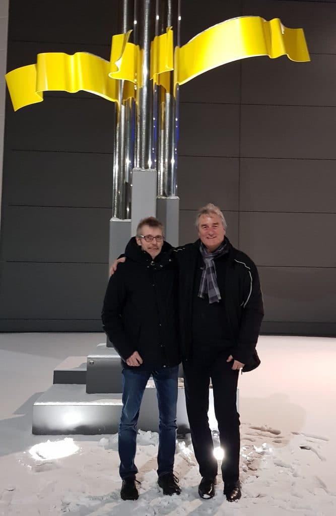 Dirk Feldkötter und Peter Scheiner