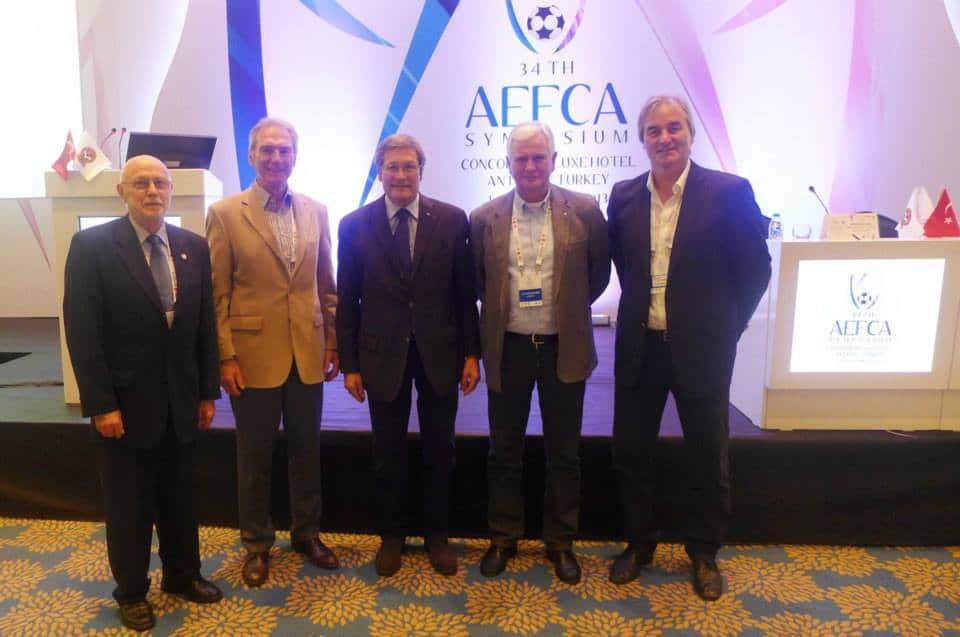 Kongress der europäischen Trainervereinigung (AEDCA) in Italien.