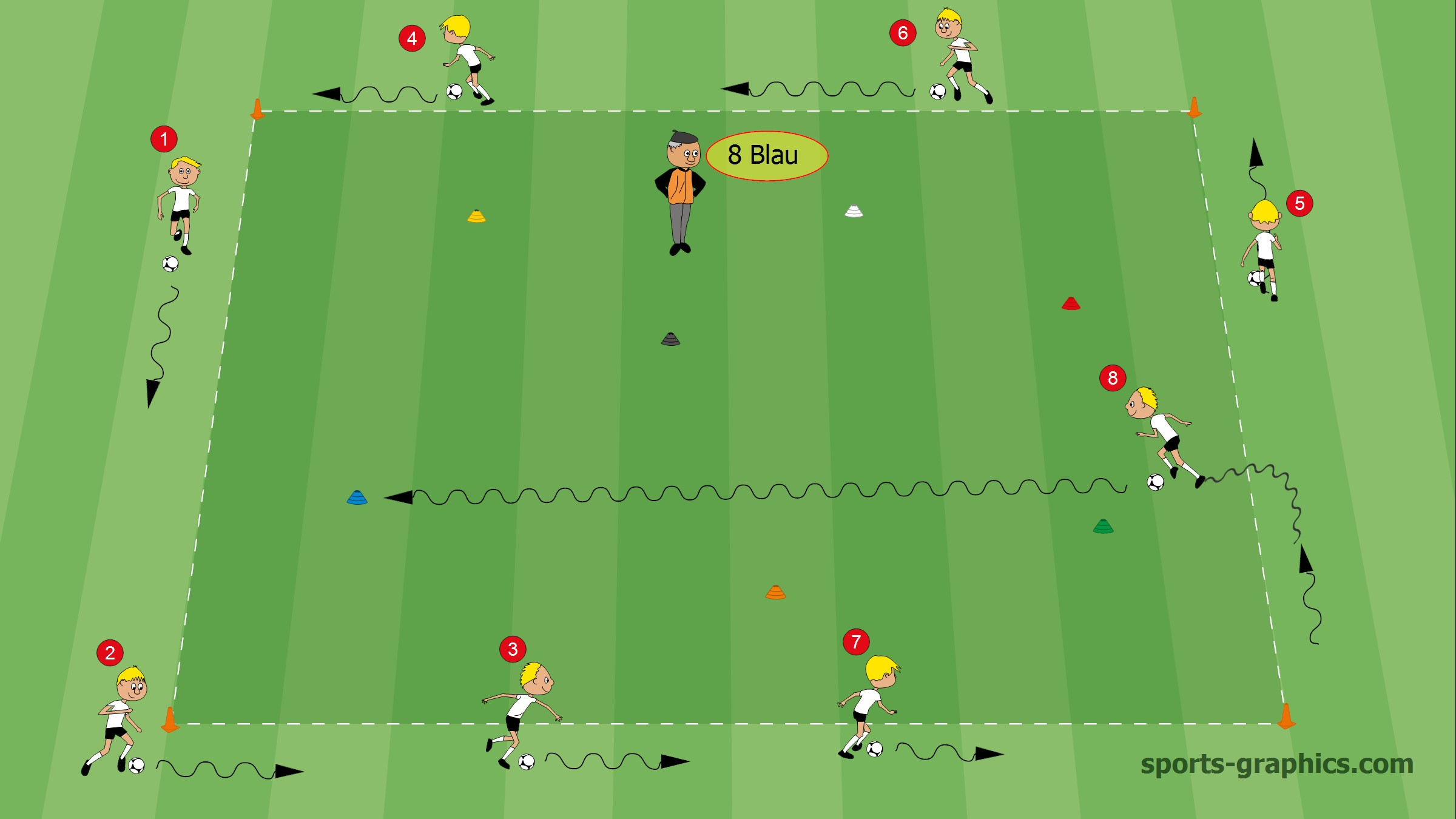 Fussballtraining24 Kostenlose Fussball Ubungen