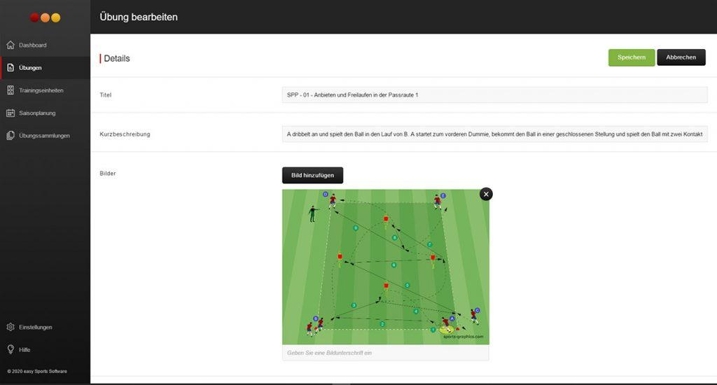 Fussball Trainingsplanung